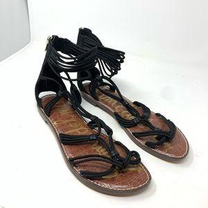 NWT sam edelman sandals size 11 black